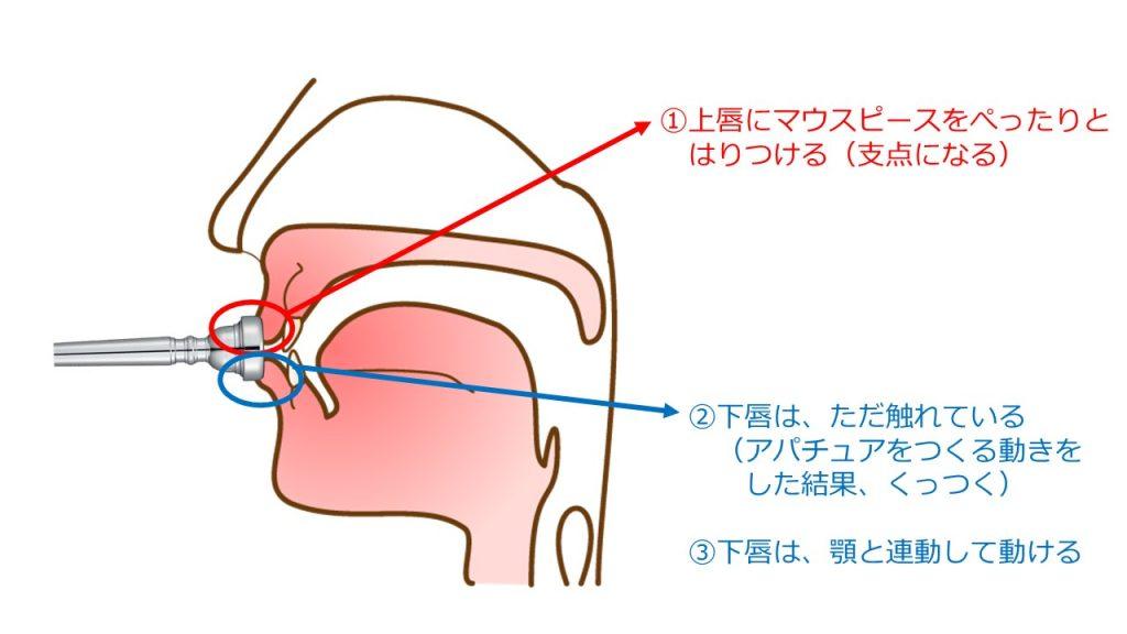 トランペット の 吹き 方